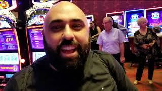 HANDPAY **OUR BIGGEST WIN EVER!!** DANCING DRUMS HIGH LIMIT ROOM, BUFFALO GOLD, SLOT TOURNAMENT