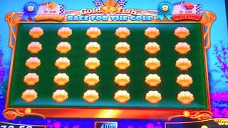 "LIVE PLAY w/ BONUSES!! ""RACE FOR THE GOLD"" slot machine (MAX BET!)"