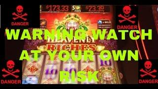 WARNING HEAVENLY RICHES BEING PLAYED WARNING