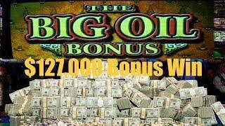 •$127,000 Bonus Win Max Bet $10,000!!! Elite High Roller Video Slot Texas Tea, Texas Tina Oil • SiX