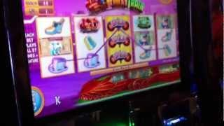MONOPOLY PARTY TRAIN | WMS - Big Win! Slot Machine Bonus