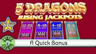 ⋆ Slots ⋆️ New   5 Dragons Rising Jackpots slot machine, a Quick Bonus