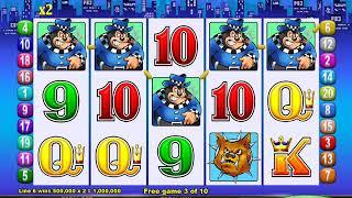 MR CASHMAN JAILBIRD Video Slot Casino Game with a CASHMAN PULLS HANDLE BONUS