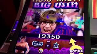 BIG win Austin powers slot