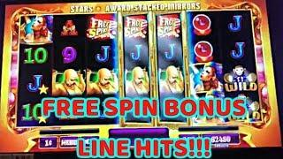 • CARNIVAL OF MIRRORS • BONUS FREE SPINS • CASABLANCA SLOT •