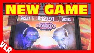 Double Buffalo Spirit - NICE WIN - NEW Slot Machine Bonus + Retriggers