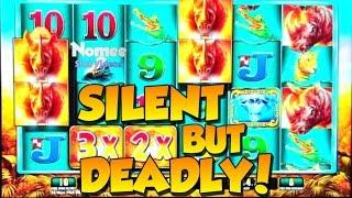 •SUPER BIG WIN!!• RAGING RHINO Slot Machine - SLOTS of WINS!! • Episode Nine