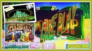 •LIVE PLAY•  Road to Emerald City & Open Vault ~ Slot Machine Bonus • MAX BET•