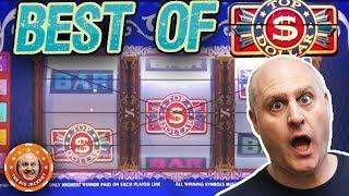BEST OF TOP DOLLAR JACKPOTS! •The BIGGEST Wins Down Memory Lane! | The Big Jackpot