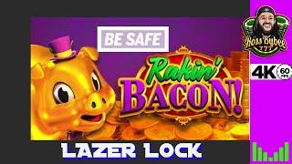 A Day in Vegas Rakin Bacon & Lazer Lock Slot Bonuses