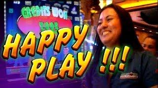 Happy Play + Live Bonus + Jade + Village People.. 5c  WMS SLots