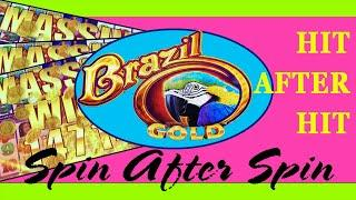 ⋆ Slots ⋆ HIT AFTER HIT, SPIN AFTER SPIN w/ RE-TRIGGER ⋆ Slots ⋆ BRAZIL GOLD SUPER FREE GAMES (SLOT