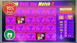 Quick Hit Black & White Wild 95% payback slot machine, 2 sessions