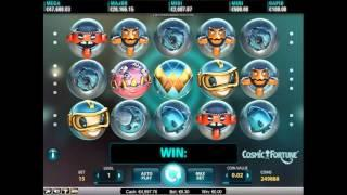 Cosmic Fortune slot by NetEnt - Gameplay
