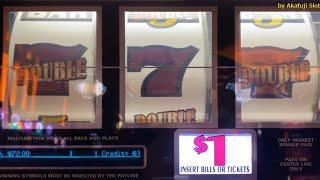 Viewers Request - Double Gold $1 Slot / Max Bet $3 [Free play Part 1/2 @ Pechanga] 赤富士スロット カジノ 今週も勝負