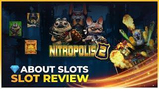 MAX WIN ON NITROPOLIS 2 (10.000x!) (REPLAY)