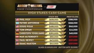 Aussie Millions 2014 - High Stakes Cash Game, Episode 5 | PokerStars