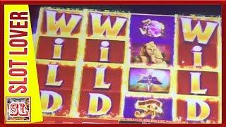 ** BIG WIN ** GOLDEN EGYPT ** BACK TO BACK BONUSES ** SLOT LOVER **