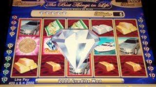 LIFE OF LUXURY (Classic Version) | WMS - Free Spins Slot Machine Bonus
