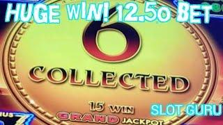 Huge win! Better than jackpot hand pay! Lightning Link Slot Machine Hold and Spin! Sahara Gold