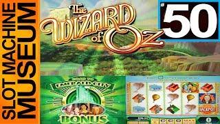 WIZARD OF OZ (Video) **50th EPISODE!!** (WMS)  - [Slot Museum] ~ Slot Machine Review