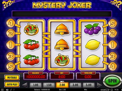 Mystery Joker Slot Machine